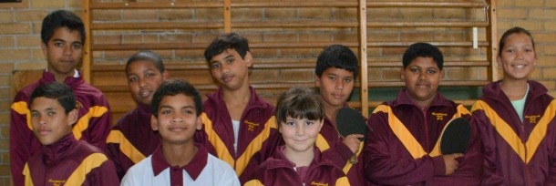 The Table Tennis Team!